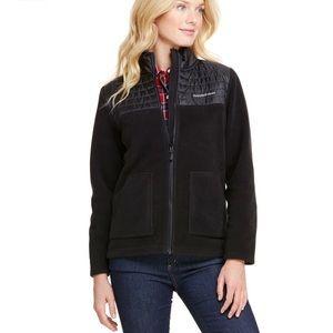 Vineyard Vines Fleece Full Zip Swearshirt Black M